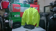 Completo Impermeable Anitlluvia Fluo Acerbis Alta Visibilidad S M L XL XXL