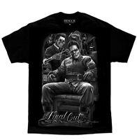 DGA David Gonzales Art Fresh Final Cut Frankenstein Rockabilly Punk T Shirt