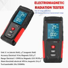 LCD Digital Strahlenmessgerät 5G 4G EMF Tester Elektromagnetische Radiometer DE