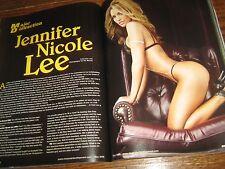 MUSCULAR DEVELOPMENT bodybuilding magazine/Lee Priest/Jennifer Nichole Lee 5-09