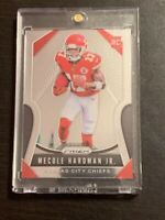 2019 Panini Prizm Mecole Hardman Jr Rookie #345 Kansas City Chiefs!!
