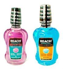 Twin Pk Reach Essentials 6 in 1 Anti-Plaque & Anti-Cavity Oral Rinse MINT SEALED