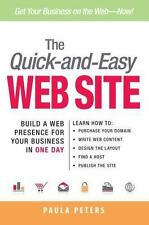 The Quick-and-Easy Web Site: Build a Web Presence for Your Business in-ExLibrary