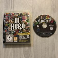DJ HERO START THE PARTY - PLAYSTATION 3 PS3 GAME