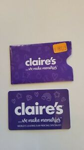Claire's We Make Memories Gift Card, Amount: $182.13
