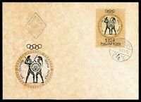 UNGARN MK 1960 OLYMPIA ROM OLYMPICS SCHWERTKAMPF FECHTEN MAXIMUM CARD MC cn71