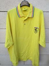 Polo FERRARI jaune Scuderia maglia shirt épqoue Schumacher XL