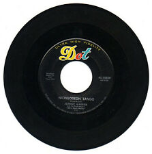 1956 Johnny Maddox 45 Record Nickelodeon Tango & Solitude Dot 15509 VG+