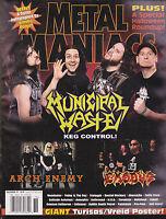 Metal Maniacs Magazine - Municipal Waste Halloween 2007  Free US S/H
