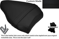 BLACK STITCH CUSTOM FITS DUCATI STREETFIGHTER 848 REAR PILLION SEAT COVER