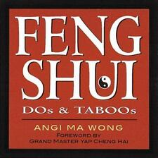 Feng Shui Dos and Taboos by Angi Ma Wong (2000, Paperback)