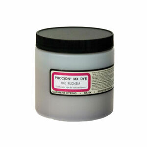 PROCION MX DYE 040 Fuchsia Cold Water For Natural Fibers Garment TIE DYE 8 oz