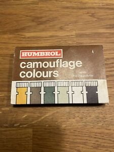 Vintage Humbrol Paint Set