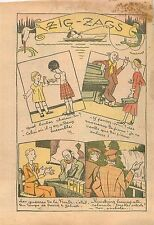 Humour Bonbons Pianos Guerre Fronde David et Goliath Oculiste cataracte 1932