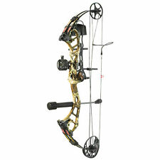 New PSE Archery Stinger Max RTS Package Right Hand Strata Camo 70# Bow