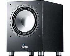 Canton 80.2 Subwoofer 250 Watt RMS Compact High Impact Sound - Black