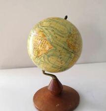 Dalmau Carles old world globe plaster base wood