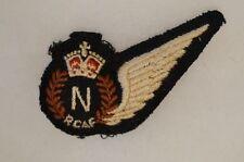 WW2 Canadian RCAF Navigators Wings Padded 3