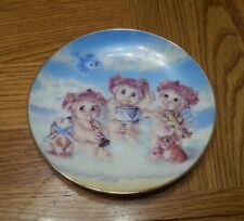 The Hamilton Collection The Recital by Kristin Dreamsicles plates