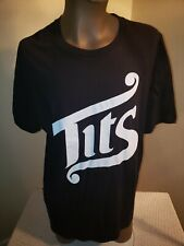 TITS (Two in the Shirt) XL T-shirt New NWT Black and White Authentic