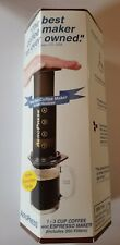 AeroPress 1 - 3 Cup Coffee and Espresso Maker Quick and Easy w/ 350 Filters
