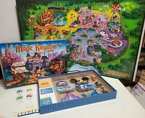 Disney Magic Kingdom Board Game Parker Brothers 2004 Near Complete