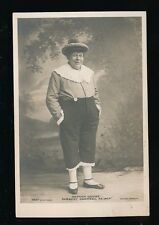Theatre Stage Panto HERBERT CAMPBELL as Jack Mother Goose pre1919 RP PPC