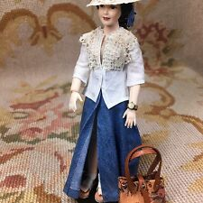 Pat Tyler Doll Skirt Top Blouse Hat Shoes Clothing Outfit Heidi Ott p430