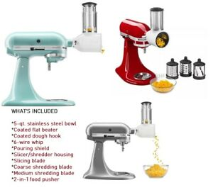 KitchenAid KSM150FB Artisan Series Bundle - 5-qt. Tilt-Head Stand Mixer New