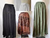 South Crinkle Maxi Skirt or Bandeau dress Colours Various Size UK 8-16