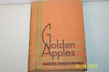 Golden Apples Marjorie Kinnan Rawlings USA hardcover 1935 first edition English