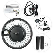 Bicicleta eléctrica 48V 1000W Hub Motor Conversión Kit Rueda 20x4 pulgadas con