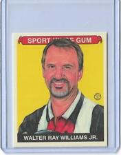 AWESOME 2013 SPORT KINGS WALTER RAY WILLIAMS MINI CARD #303 ~ PBA BOWLING LEGEND