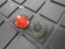 1978 YAMAHA 250 ENTICER 8G5 snow parts: BOTH rear tunnel RED REFLECTORS