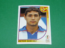 N°108 VICTOR SANCHEZ ESPAÑA PANINI FOOTBALL JAPAN KOREA 2002 COUPE MONDE FIFA WC