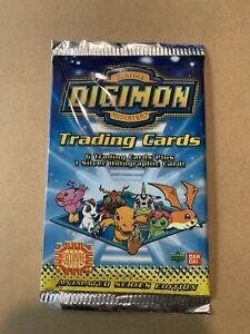 Upper Deck Digimon Trading Cards Sealed Pack First 1st Edition