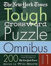 The New York Times Tough Crossword Puzzle Omnibus Volume 1: 200 Challenging Puzz