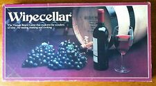 VTG 1984 Winecellar Board Game COMPLETE Wine Cellar Tasting Toasting Cooking !