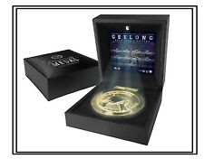 GEELONG AFL PREMIERSHIP MEDAL REPLICA MEDAL IN BOX OFFICIAL AFL PRODUCT