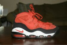 Nike Air Max Uptempo University Red Black White Size 9 311090-600.