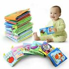 Baby Soft Cloth Book With Rustle Sound Musical Toy Newborn Baby Educational Toys