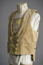 Vtg 1940'S Fhb German Cordury Workwear Chore Vest Jacket Size 54 Made in Germany