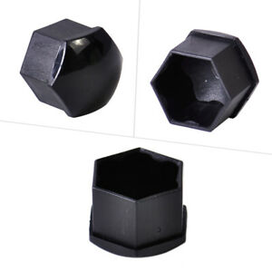 20x 17mm Car Wheel Lug Bolt Center Nut Cover Cap fit for Audi TT Golf Skoda Li