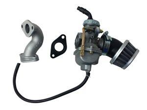 PZ20 Carburetor Air Filter Intake 50cc 90cc 110cc 125cc ATV Quad SUNL TaoTao