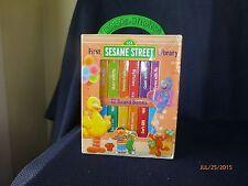 First Sesame Street Library 12 Board Books 2004 Sesame Street Workshop Guc