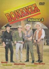 BONANZA Volume 3 DVD Lorne Greene,Pernell Roberts WORLDWIDE SHIP AVAIL