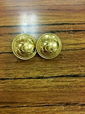 Vintage 2 French NAVY Army Military uniform buttons PARIS