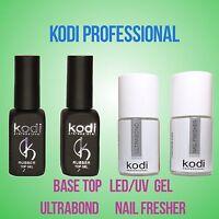 Kodi Professional -  Rubber Top Base LED/UV Gel Nail Fresher  Ultrabond