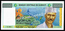 Djibouti 10000 Francs UNC / Neuf Série Y.001