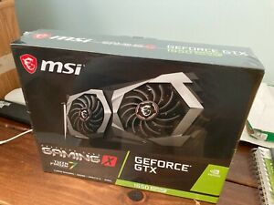 MSI GeForce GTX 1650 Super Gaming X Dual Fan Graphics Card - 4 GB - Brand New